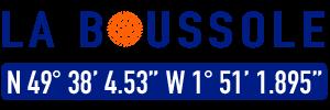 logo du footer du site la Boussole, agence de création de site internet à Cherbourg-en-Cotentin et dans la Manche